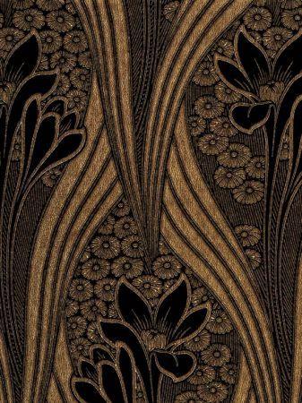 Art Deco wallpaper - Chameleon Collection