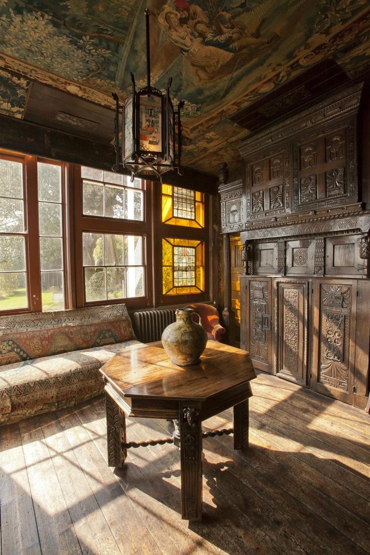 Inside Victor Hugo's house, St Peter Port, Guernsey.