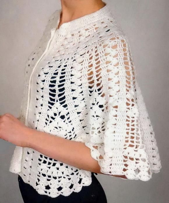Beautiful Cape Pattern … | Bordado a mano