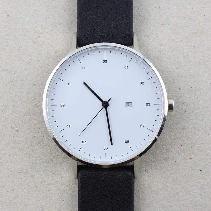 I need a simple black Instrument watch. Silver or gold, I just love the minimalism.