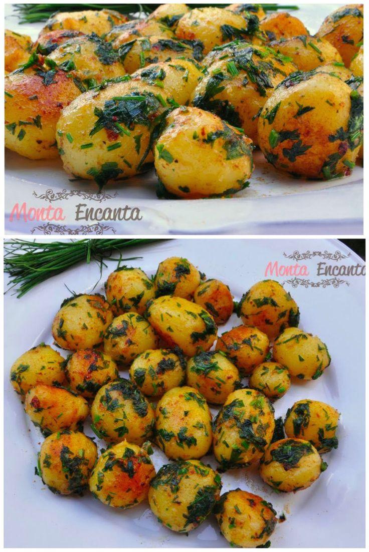 Batata Sauté, um dos melhores acompanhamentos, para incrementar um almoço ou jantar, simples de fazer, agrada a maioria e fica incrivelmente saboroso!