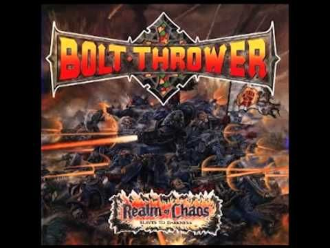 BOLT THROWER - Realm of Chaos: Slaves to Darkness ◾ (album 1989, UK death metal)