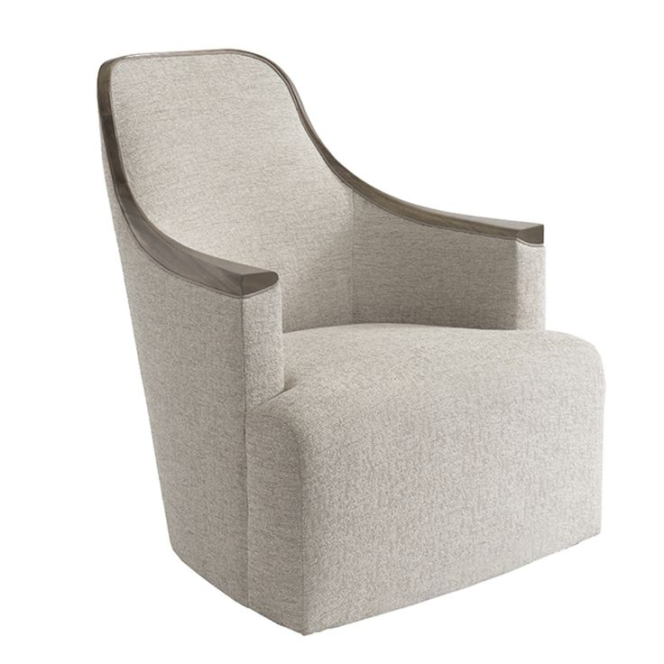 Georgette Lounge Chair  Contemporary, Transitional, Upholstery  Fabric, Club Chair by Donghia