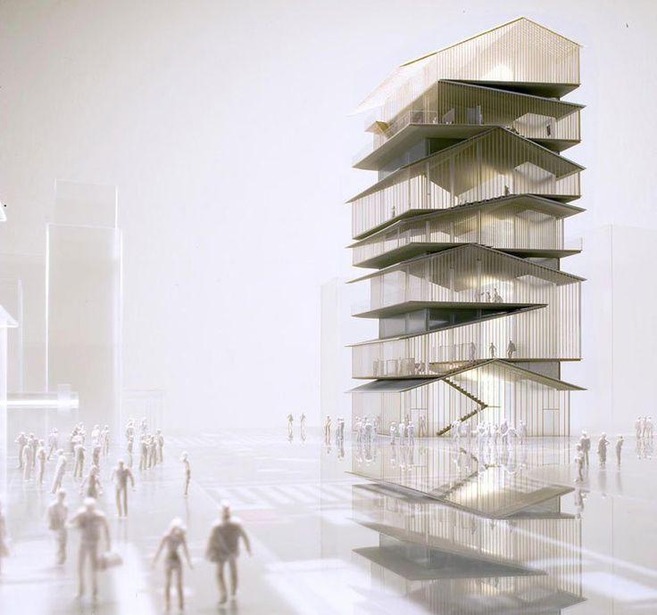 Kengo Kuma & Associates   Asakusa Culture and Tourist Information Center, Tokyo, Japan, competition (2008)