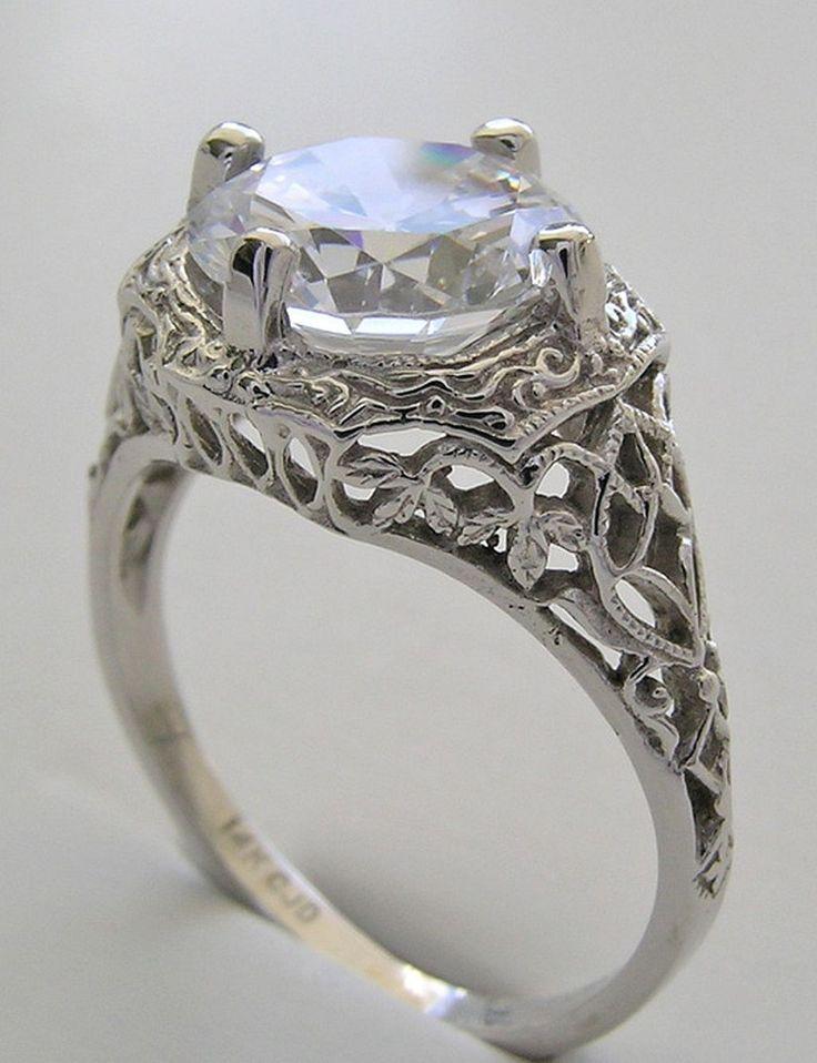 53 best rings images on Pinterest Diamond wedding rings Diamond