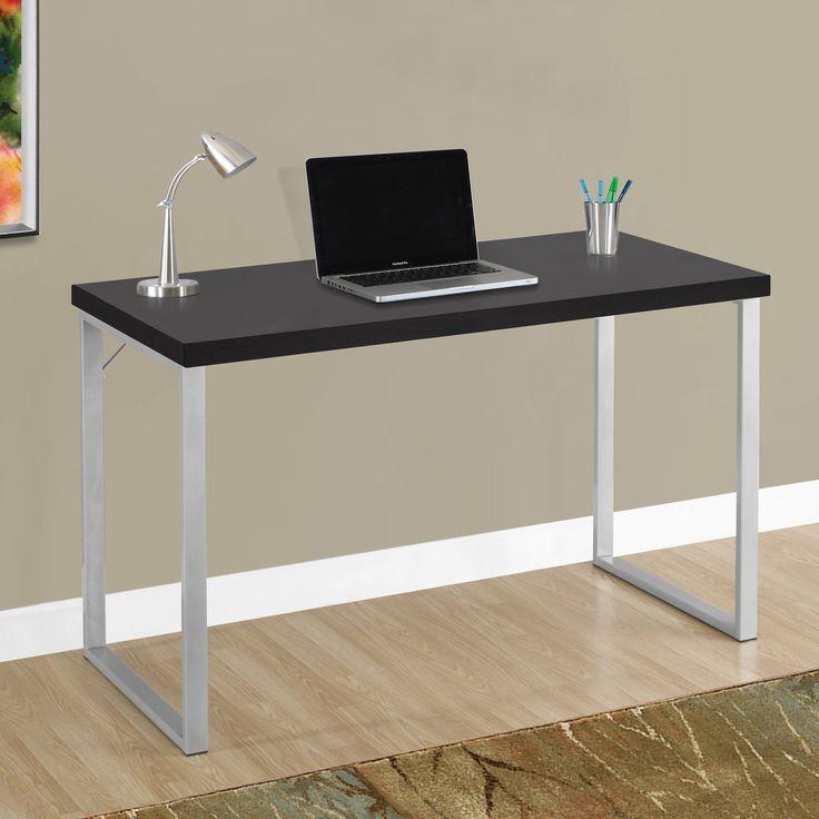 Monarch Specialties 47 in. Metal Computer Desk | from hayneedle.com