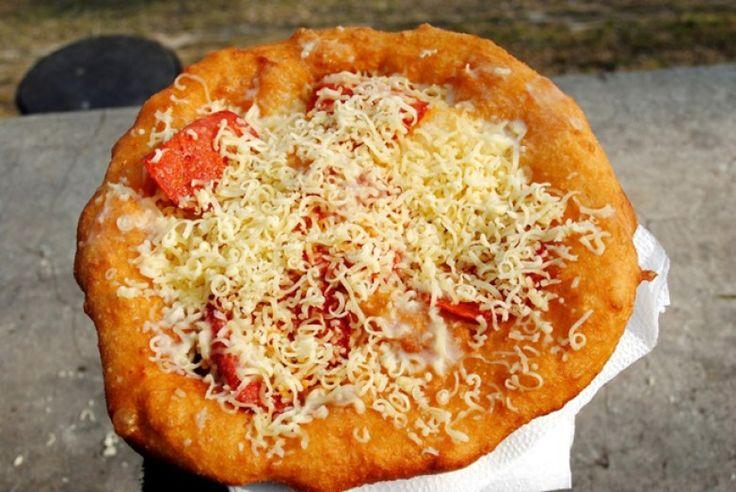 Pinterest Langos Hungary food