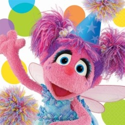 Possibly every Abby Cadabby birthday party idea in oneAbbie Cadabby, Parties Supplies, Sesamestreet, Sesame Street Parties, Birthday Parties, Lunches Napkins, Sesame Streets, 2Nd Birthday, Birthday Ideas