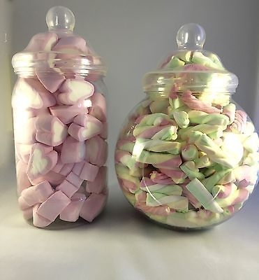 Large Plastic Victorian Jars Candy/Sweet Buffet Table PARTY **YOU CHOOSE JARS**