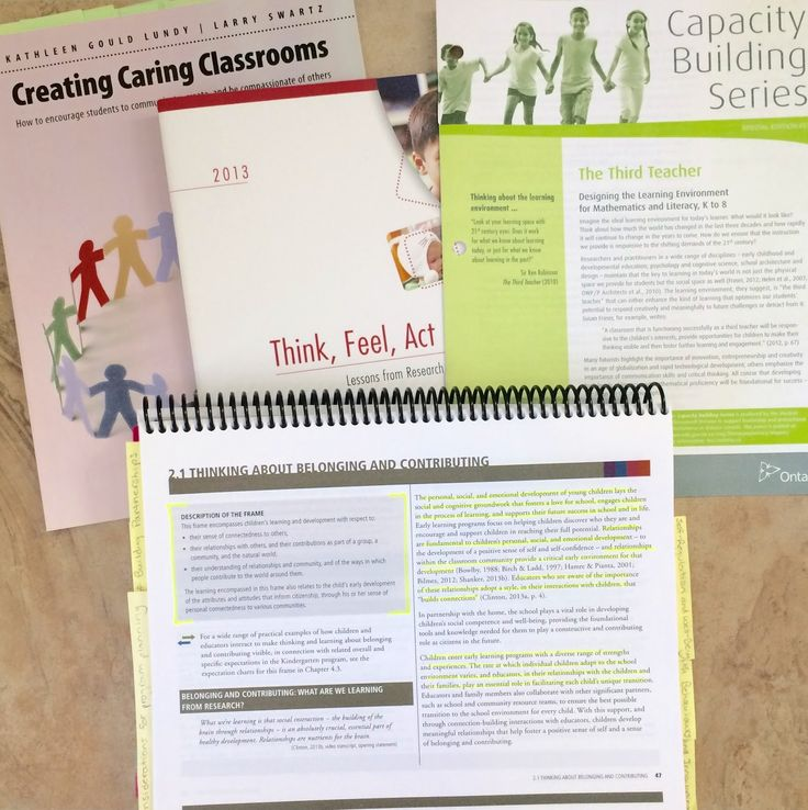 The Kindergarten Program 2016: Unpacking the Front Matter - A Six Part Series      Part 3: The Four Frames: Belonging ...