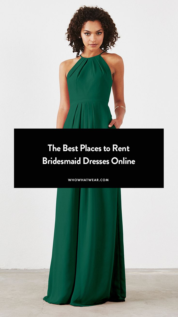 Where to rent bridesmaid dresses online