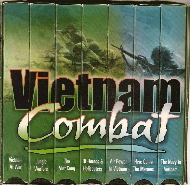 Vietnam Combat Box set of 7 VHS War History