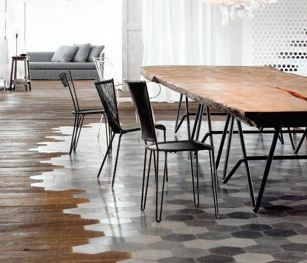 Transition Wood Floor To Tile Ideas: Pin By Michelle Jennings Wiebe On Small Spaces