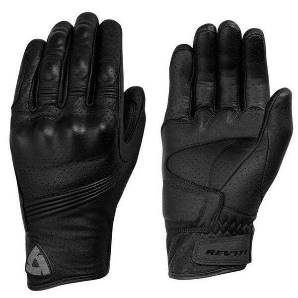 Revit Fly Leder Handschuhe, Motorradhandschuhe Größe XL