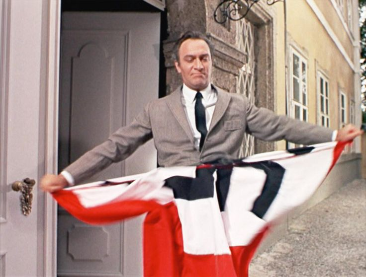 Fictional Baron von Trapp, Played By Christopher Plummer In Sound of Music