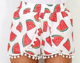 Cucito tutorial cartamodelli: Pantaloncini shorts cartamodello gratis tutte le taglie