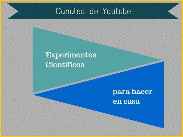 Experimentos cientificos caseros http://wwwhatsnew.com/2014/06/30/experimentos-cientificos-caseros-para-ninos-6-canales-en-youtube-en-espanol/