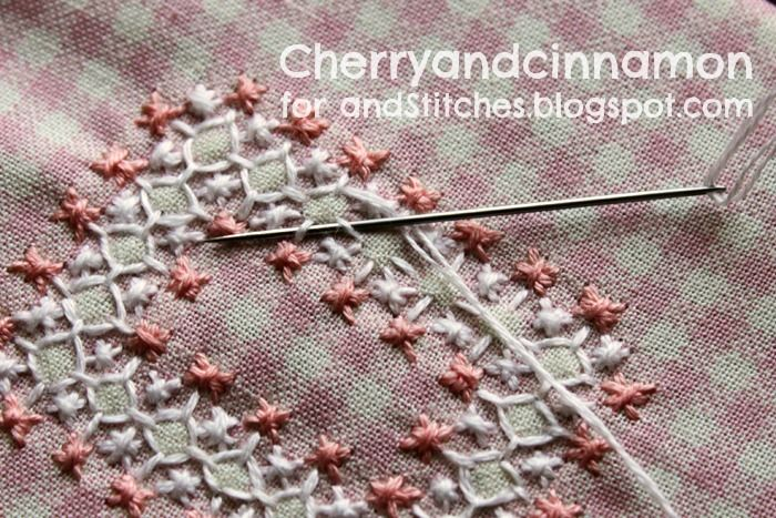 More good instructions for the basics - &Stitches: Summer Bloggin' - Chicken scratch introduction