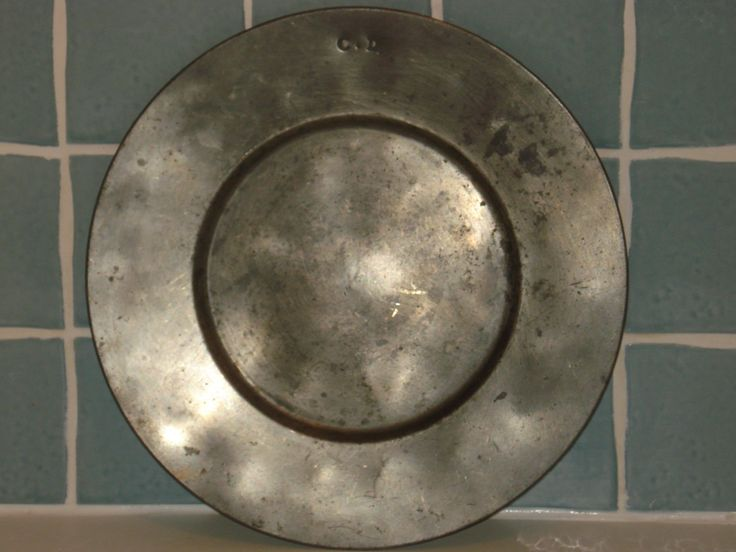French pewter plate by Morin, stamped C.D. by FrenchConnexion on Etsy https://www.etsy.com/uk/listing/270896016/french-pewter-plate-by-morin-stamped-cd