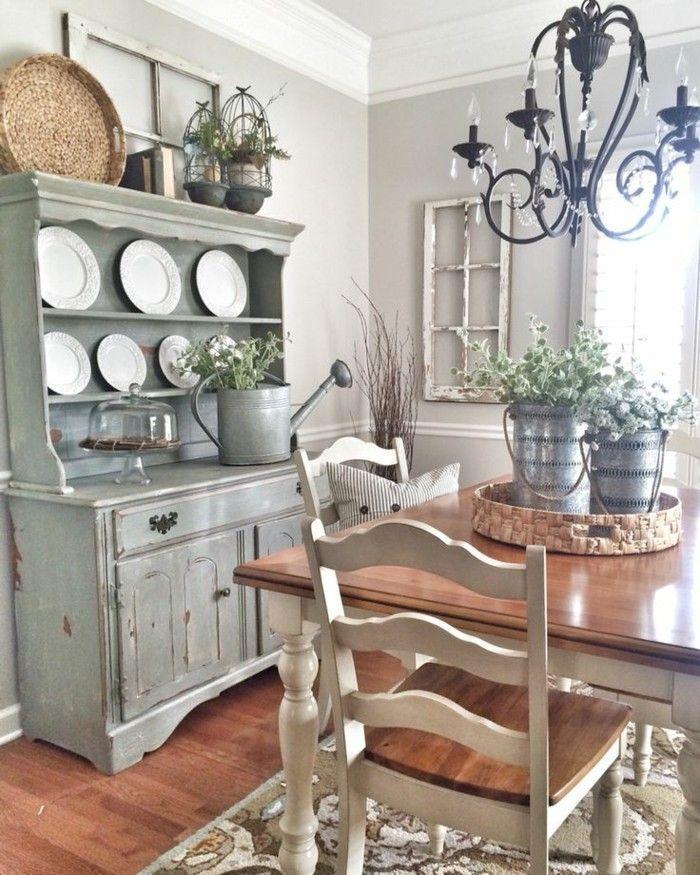 Shabby Chic Möbel – 35 Innendesigns, wo Möbel eine Wohlfühloase schaffen – WOHNKLAMOTTE   #DIY #WOHNEN #EINRICHTEN #INSPIRATION