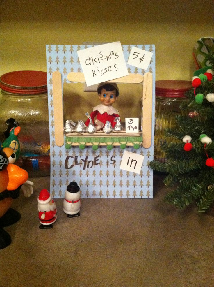 42 best images about lightbulb on pinterest gone for Elf on the shelf chocolate kiss