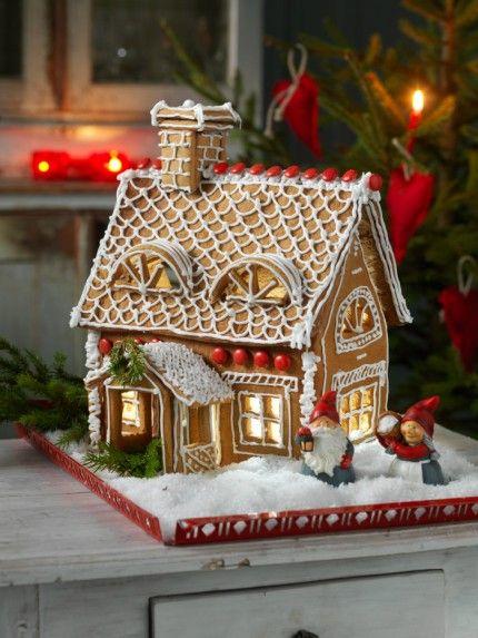 Julens sötaste stuga