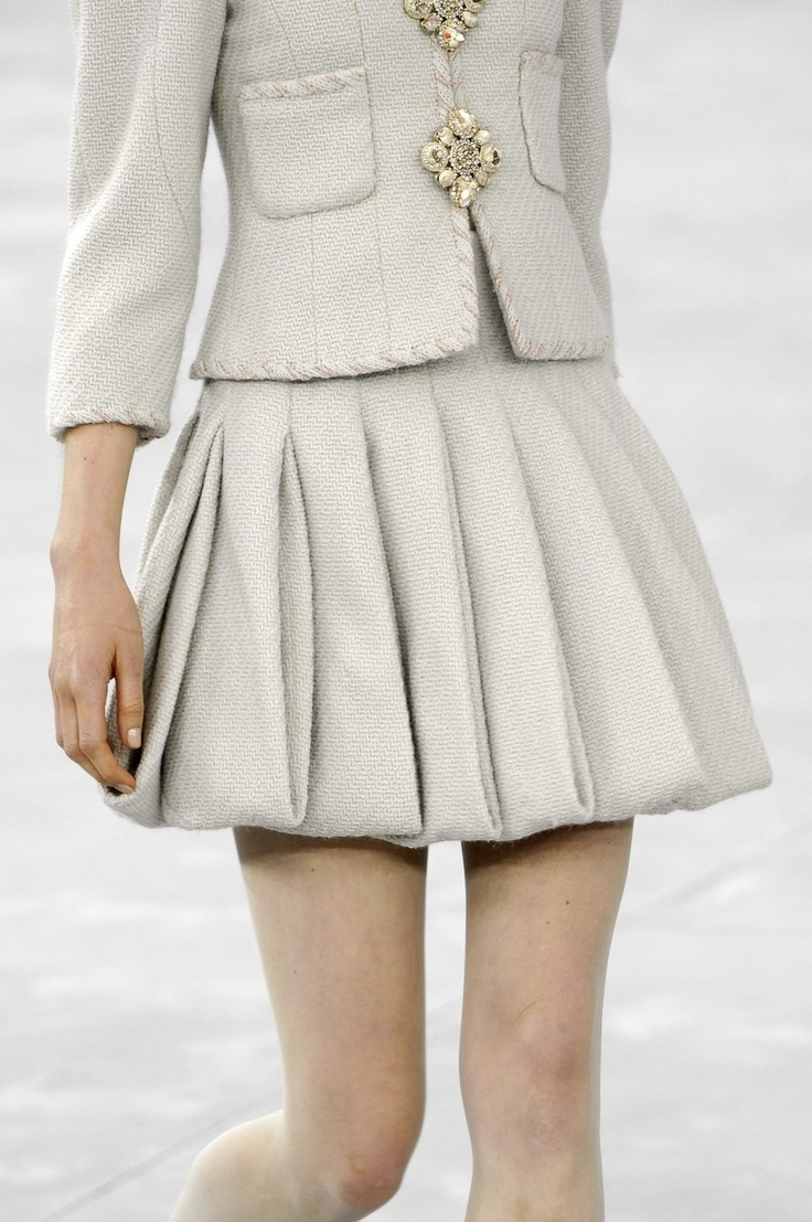 Chanel jacket and skirt