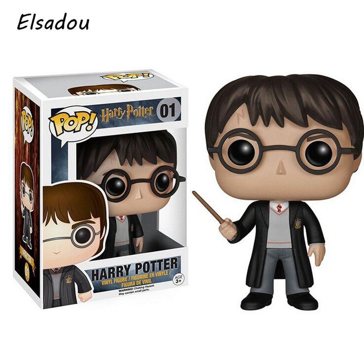 Elsadou Funko POP Películas de Harry Potter Figura de Acción de Juguete de Modelo Con la Caja Original WJ552