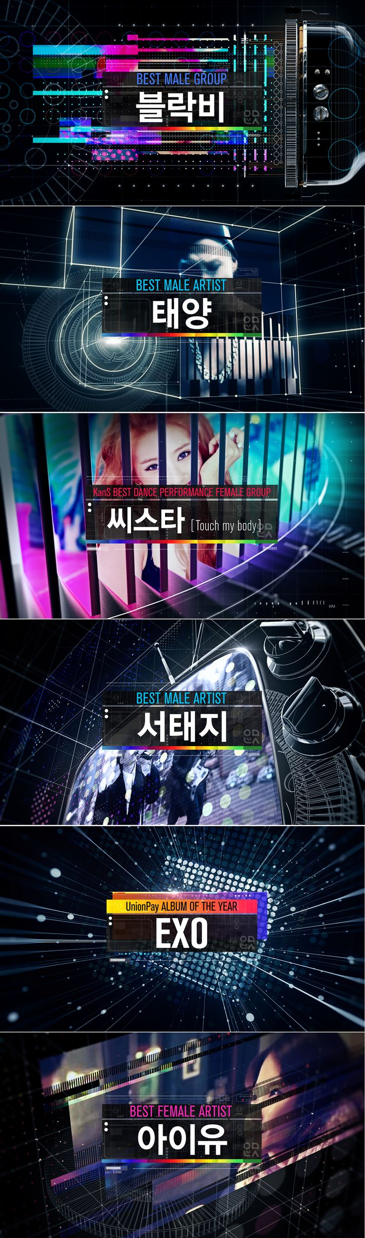 2014 Mnet Asian Music Awards Nominees