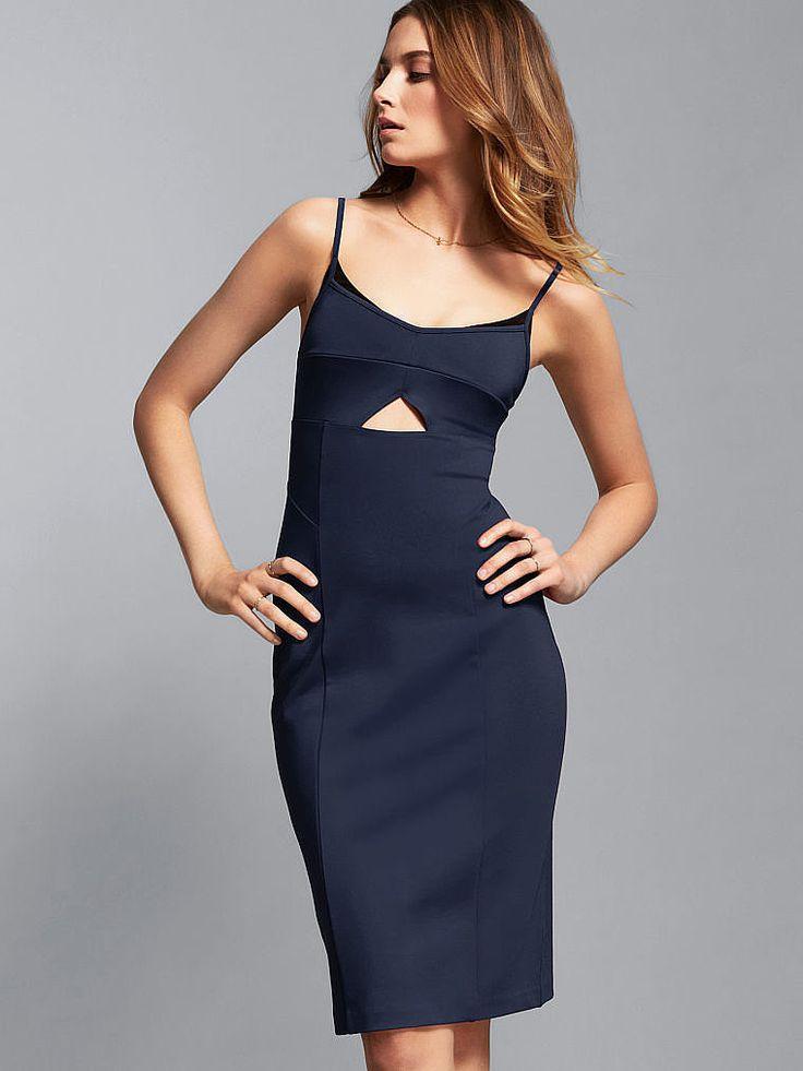 Holiday party dress victoria s secret cutout slip dress 70 wear