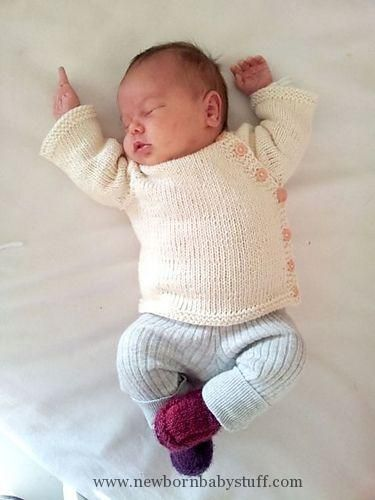 Baby Knitting Patterns Puerperium Cardigan pattern by Kelly Brooker