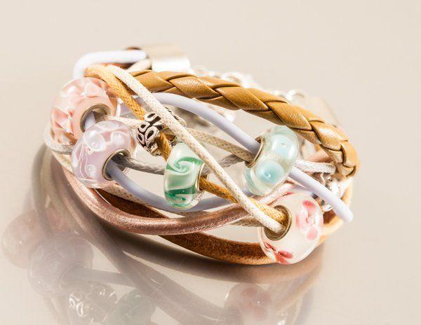 bransoletka Pastel , projektant Amatu Studio, handmade, do kupienia w decobazaar.com
