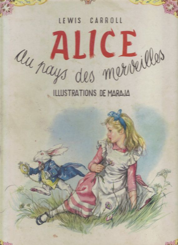 Alice in French Wonderland and Through the Miroir 2 Books