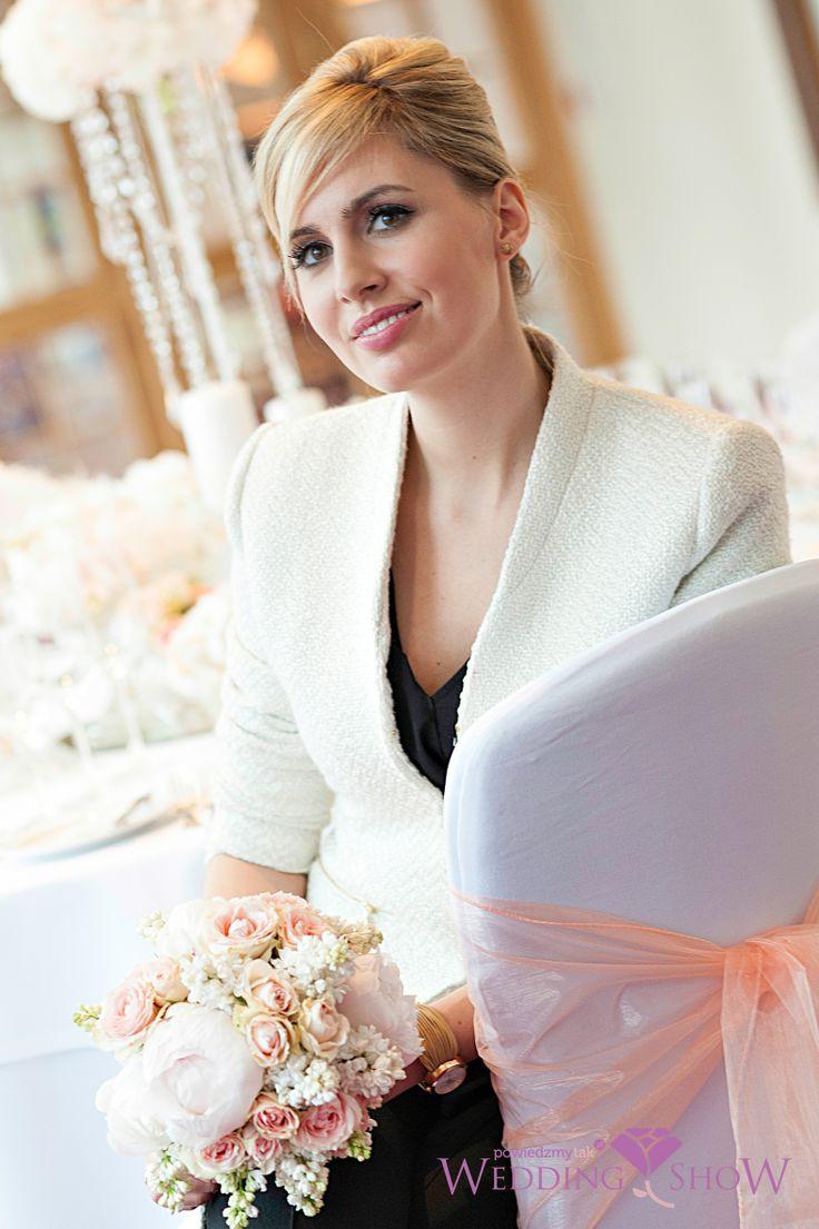 Aga Popielewicz- prowadząca Wedding Show PowiedzmyTak oraz ekspertka ślubna www.PowiedzmyTak.pl