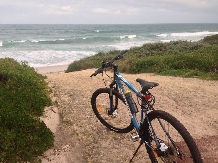 Coastal views are a regular affair when cycling the seaside trails