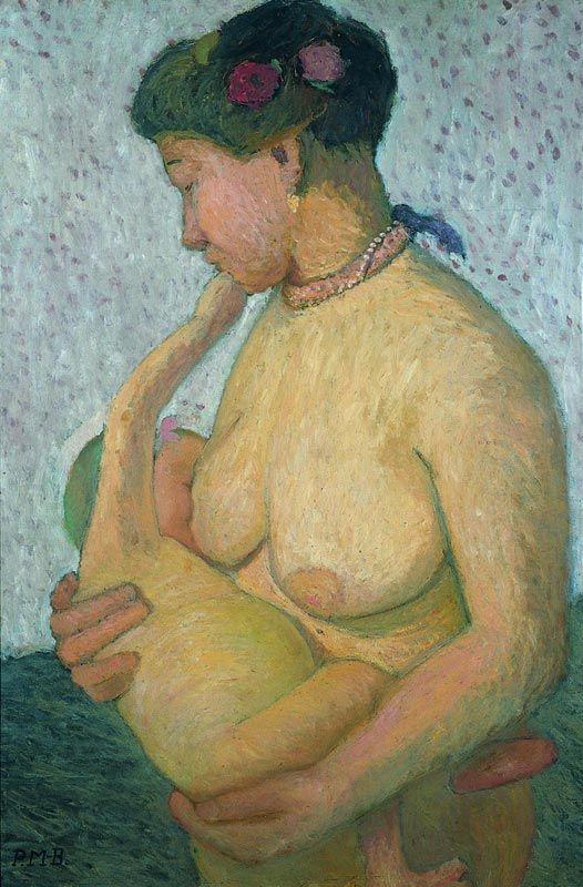 Mother Nursing Child, Paula Modersohn Becker