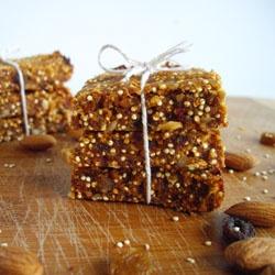 Carrot Cake Quinoa Bars | cookie (bar) exchange | Pinterest