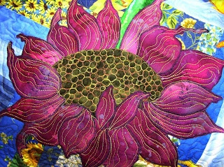 Quilting Sunflowers