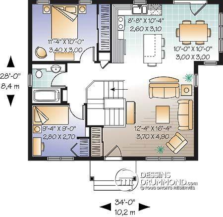 20 best bungalows plain pied images on pinterest. Black Bedroom Furniture Sets. Home Design Ideas