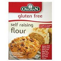 Zelfrijzend bakmeel Glutenvrij | De Tuinen http://www.detuinen.nl/glutenvrij/glutenvrije-melen-en-bakmixen/orgran-selfraising-flour.html
