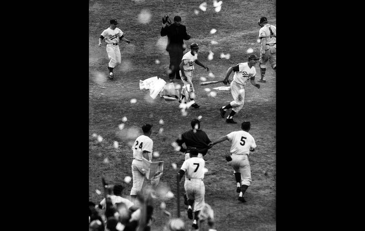 Dodgers win 1959 pennant playoffs