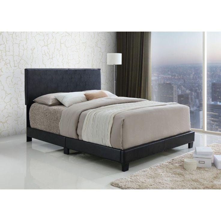 Lyke Home Black Platform Bed King