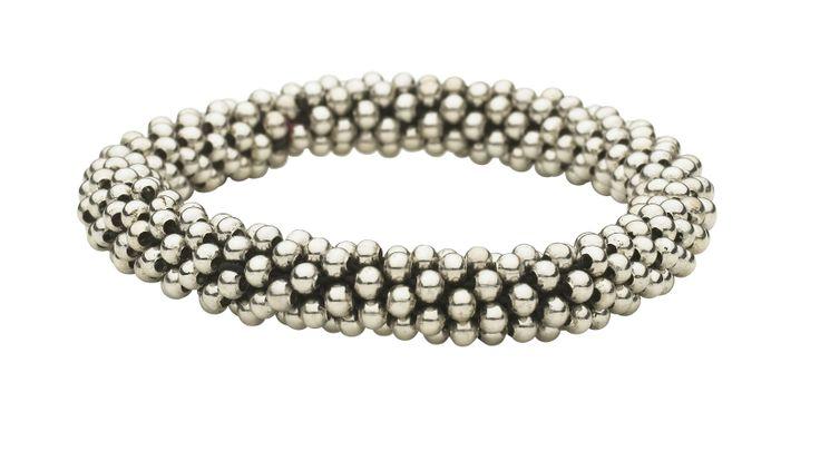 Stylish silver beads bracelets by Lisbeth Dahl Copenhagen Spring/Summer 13. #LisbethDahlCph #Jewellery #Beautiful #Silver #Beads