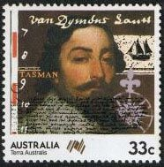 Abel Janszoon Tasman - Abel Tasman on an Australian Stamp.  Abel Janszoon Tasman was born in the Netherlands in 1603 CE and in 1633, he joined the Dutch East India company and sailed to Batavia. In 1637 he was back in Holland (possibly to get married) and this time when he returned to Batavia, he took his wife with him.    In 1642 the Council of the Indies commissioned Tasman and several other sailors to explore and map this Terra Australis (unknown southern continent). ...