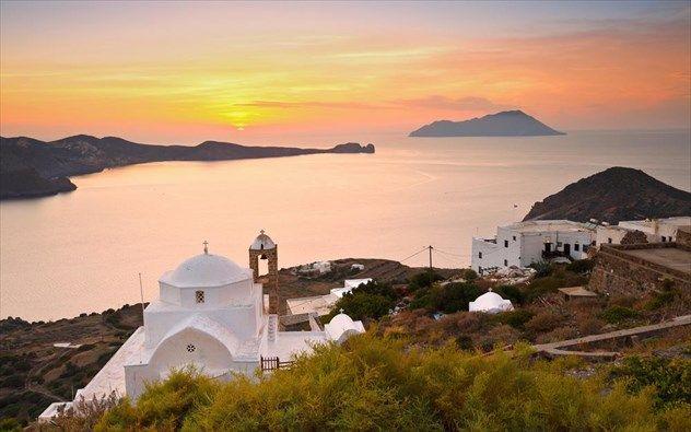 Υπέροχα ηλιοβασιλέματα στο Αιγαίο μας προκαλούν να τα θαυμάσουμε!! | Anonymoi.gr