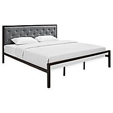 image of Modway Mia Fabric Bed Frame