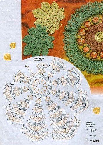 Grilles Pour Crochet Grille Automne Et Crochet