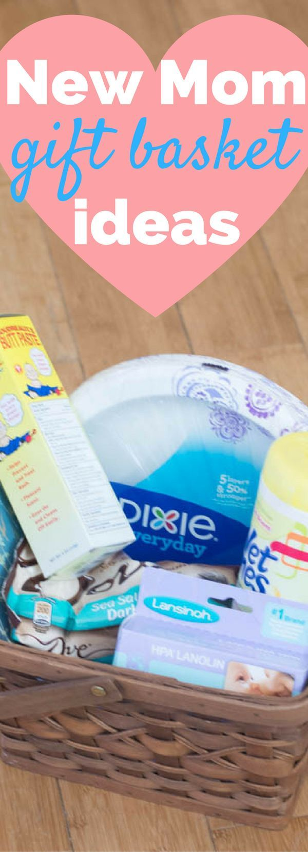 Do you know someone who recently became a mother or father? Use these gift basket ideas to make their life easier for those first weeks as a parent!