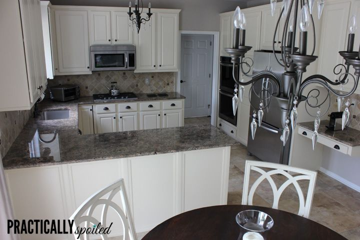 1000 ideas about whitewash kitchen cabinets on pinterest for Flooring before cabinets
