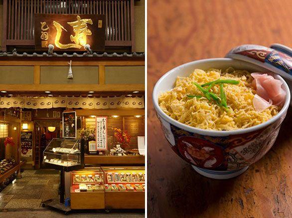 京都の冬の風物詩 蒸し寿司の名店「寿司 乙羽」|「あまから手帖」編集長がセレクト!いま京都で食べたい5つの「とっておきレストラン」|CREA WEB(クレア…